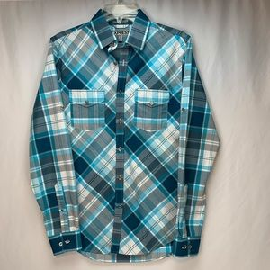 NWOT Men Express Fitted Button Down Sz S